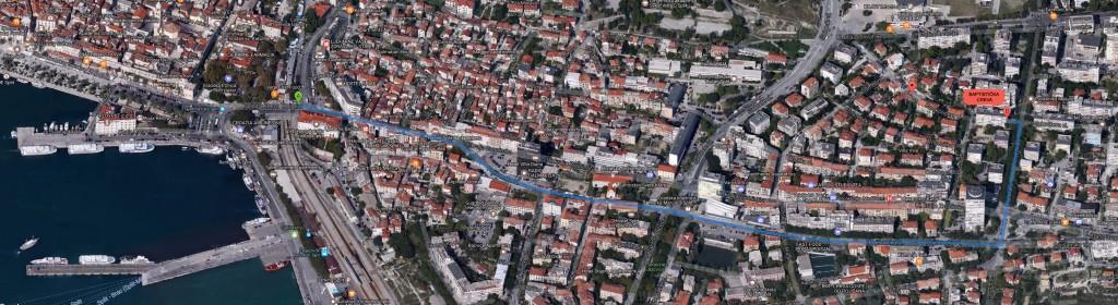 Mapa - Riva - Barakoviceva